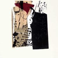 Perfect Match - Carborundum, pointe sèche, chine collé, 70x50 cm