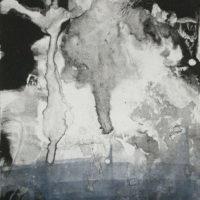 Conversations intimes - Monotype, 40x30cm