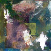À l'irlandaise - Acrylique sur toile, collage, graphite, 75x60cm